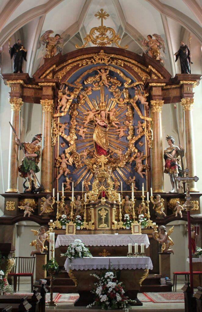 Marienaltar Pfarrkirche Maria Neustift